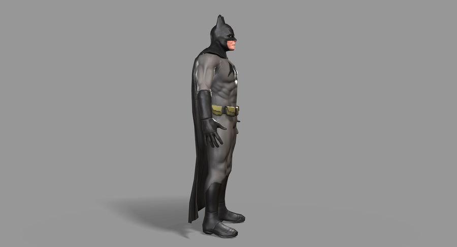 Batman Hero royalty-free 3d model - Preview no. 4