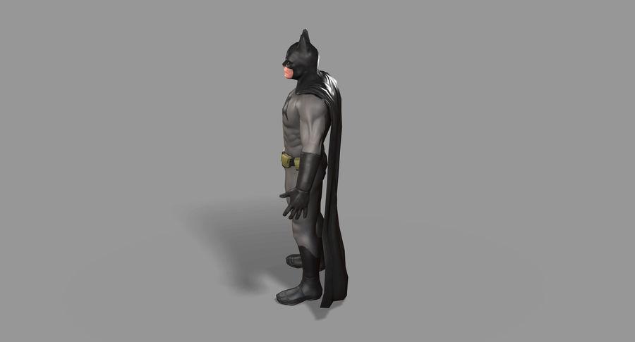Batman Hero royalty-free 3d model - Preview no. 16