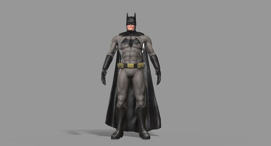 Batman Hero royalty-free 3d model - Preview no. 18