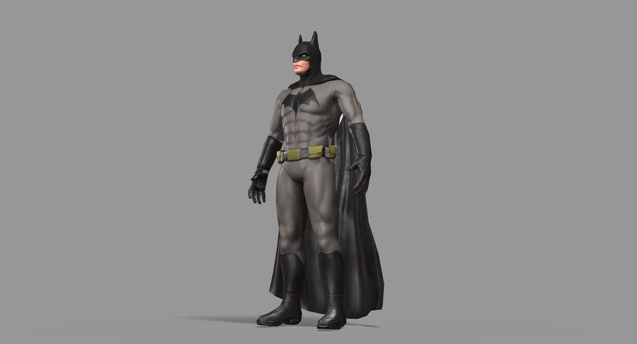 Batman Hero royalty-free 3d model - Preview no. 26