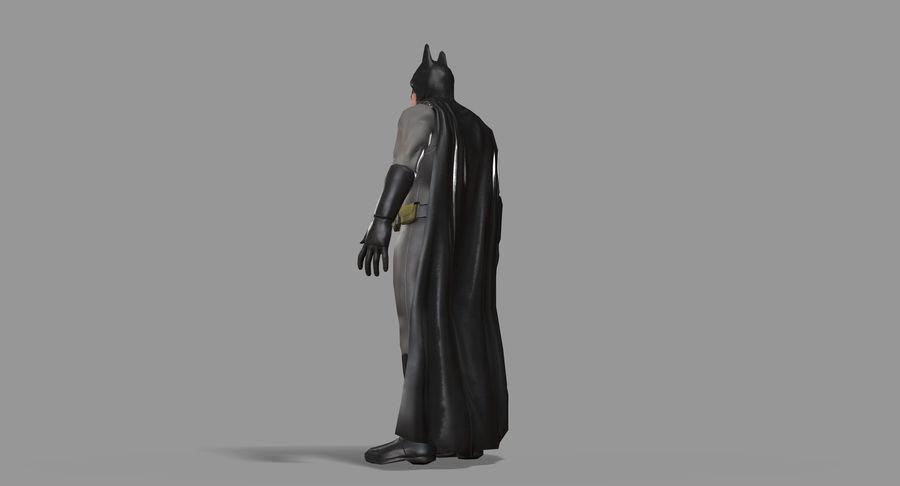 Batman Hero royalty-free 3d model - Preview no. 25