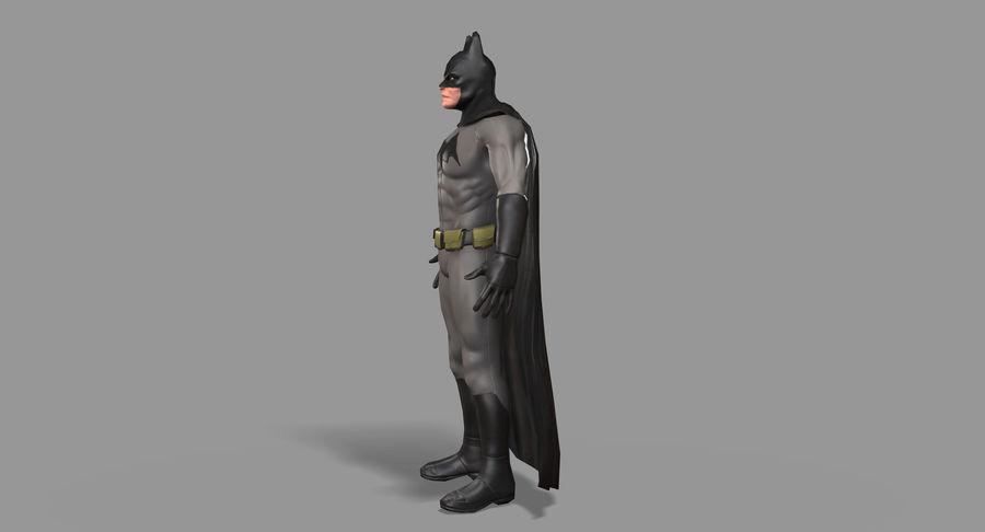 Batman Hero royalty-free 3d model - Preview no. 8