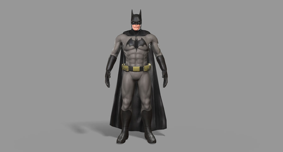 Batman Hero royalty-free 3d model - Preview no. 10