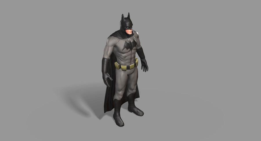 Batman Hero royalty-free 3d model - Preview no. 12