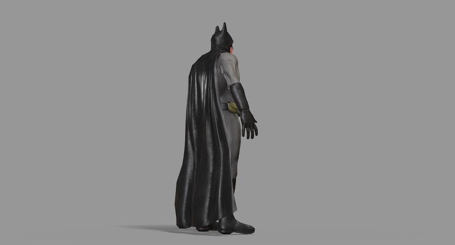 Batman Hero royalty-free 3d model - Preview no. 22