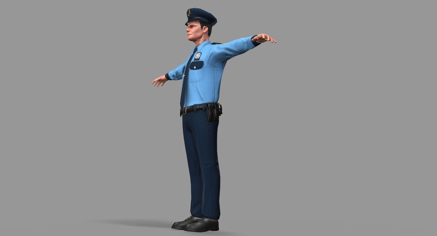 Polis royalty-free 3d model - Preview no. 24