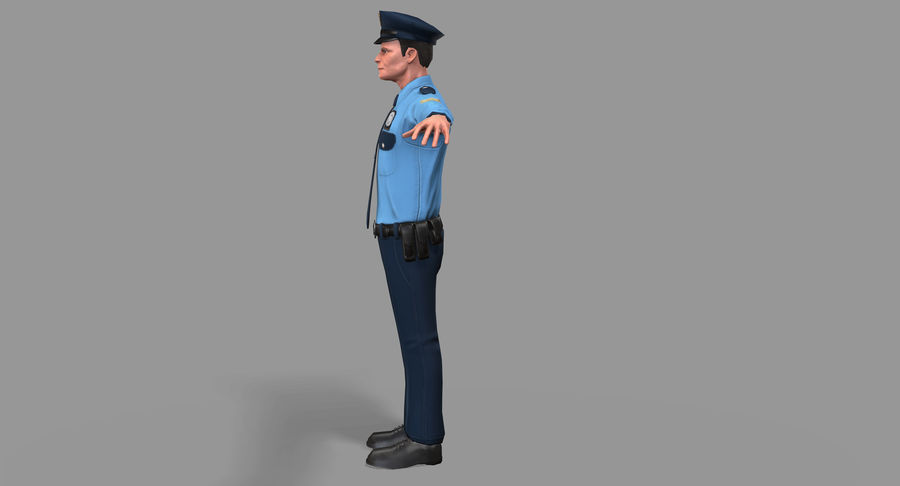 Polis royalty-free 3d model - Preview no. 8