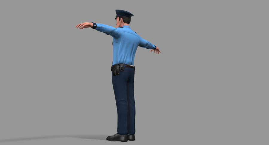 Polis royalty-free 3d model - Preview no. 23