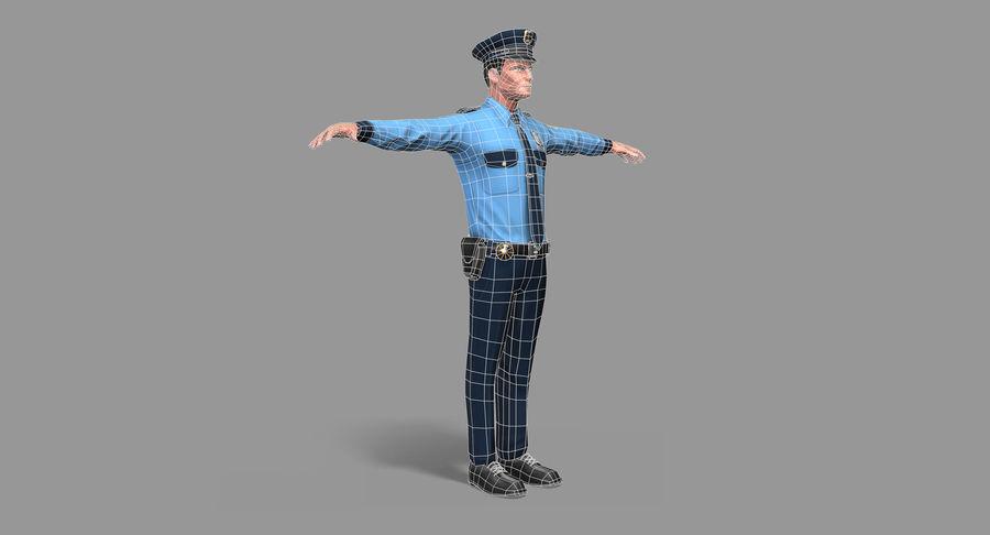 Polis royalty-free 3d model - Preview no. 28