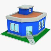 Cartoon House 5 3d model