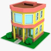 Cartoon House 7 3d model