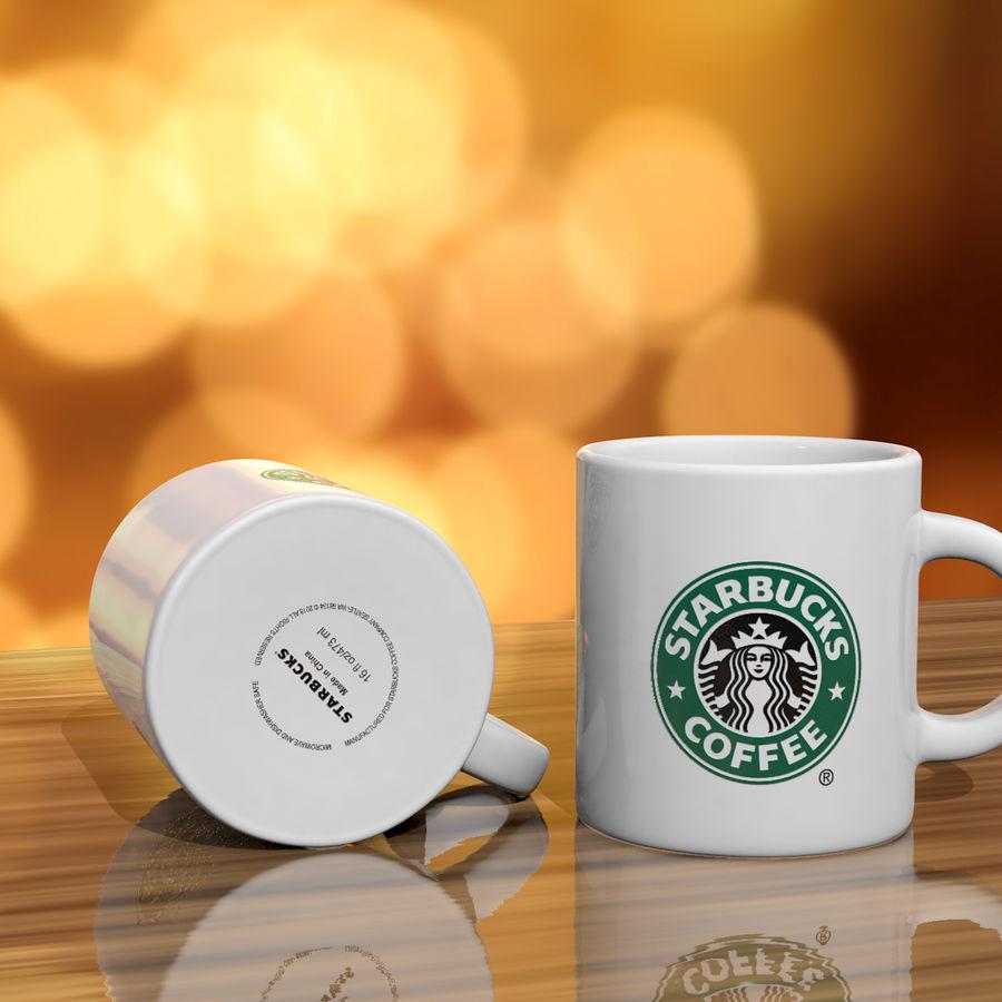 Tasse Starbucks S royalty-free 3d model - Preview no. 2