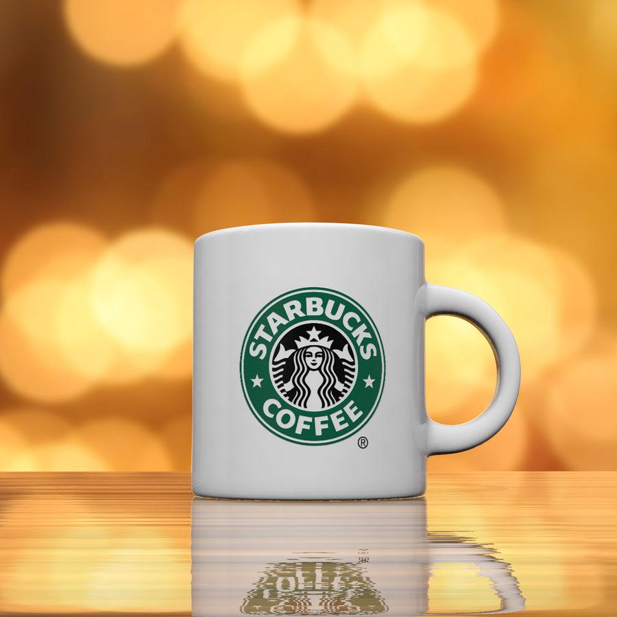 Tasse Starbucks S royalty-free 3d model - Preview no. 5