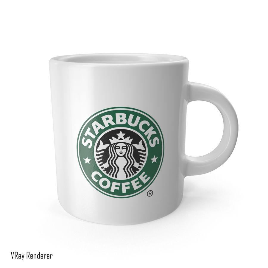 Tasse Starbucks S royalty-free 3d model - Preview no. 7