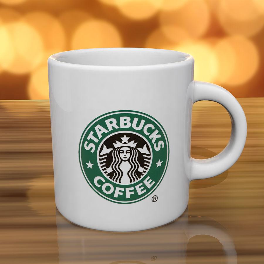Tasse Starbucks S royalty-free 3d model - Preview no. 4