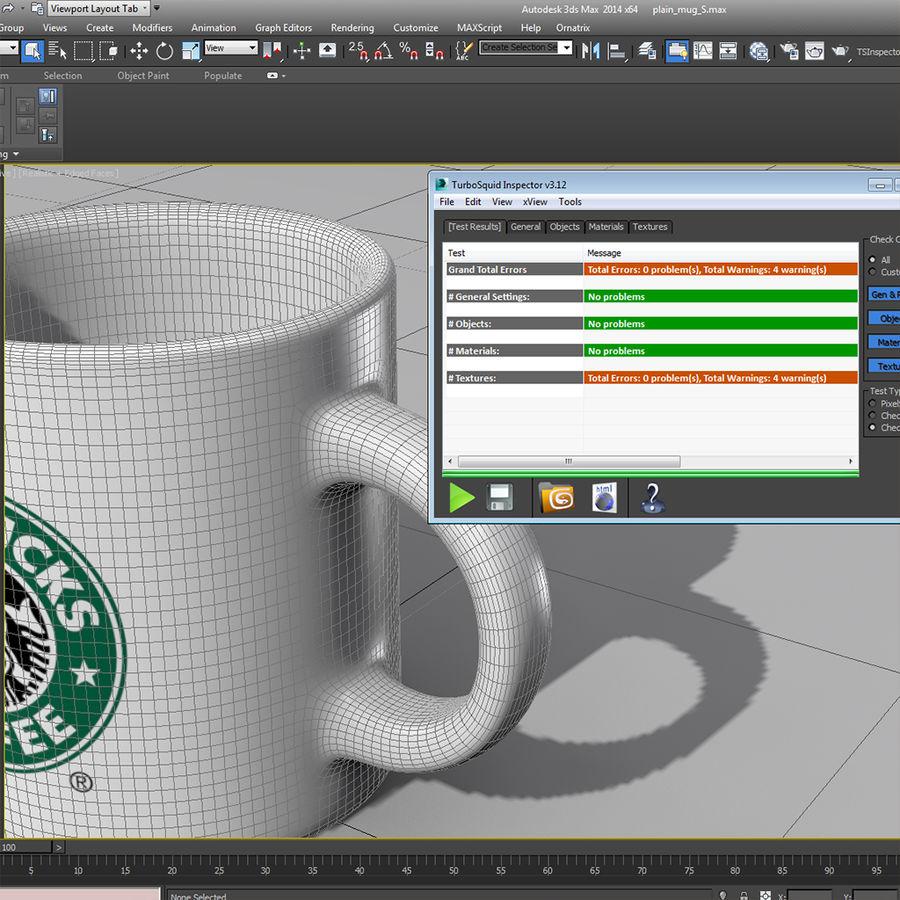 Tasse Starbucks S royalty-free 3d model - Preview no. 11