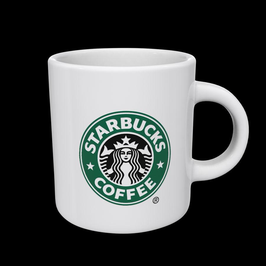 Tasse Starbucks S royalty-free 3d model - Preview no. 1