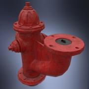 Yangın hidrant monitörü 3d model