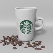 Tasse Starbucks T 3d model