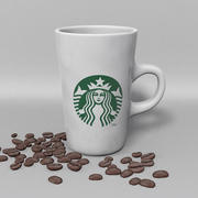 Tasse Starbucks T 3d model