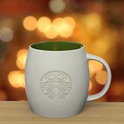Tasse gravée Starbucks 3d model