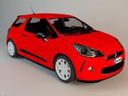 Carro da família 3d model