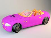 Barbie Car 2018 3d model