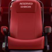 D-Box Cinema Armchair 3d model