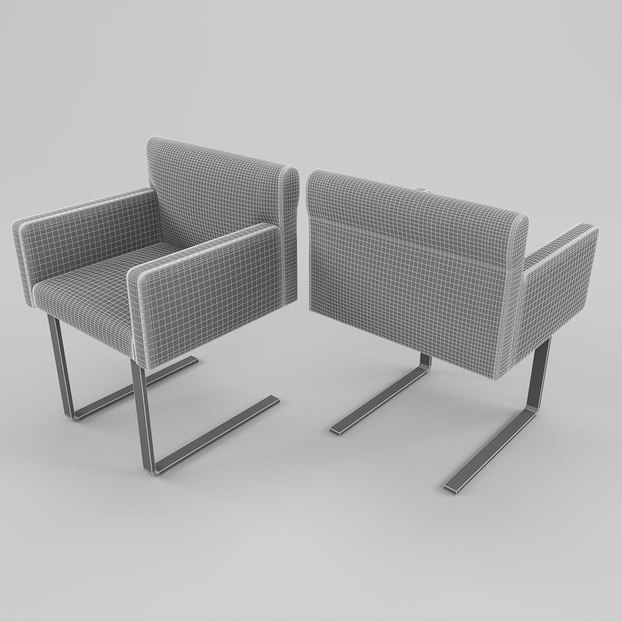 Stuhl Und Schreibtisch Quant Cor 3d Modell 10 Unknown Obj Max Free3d