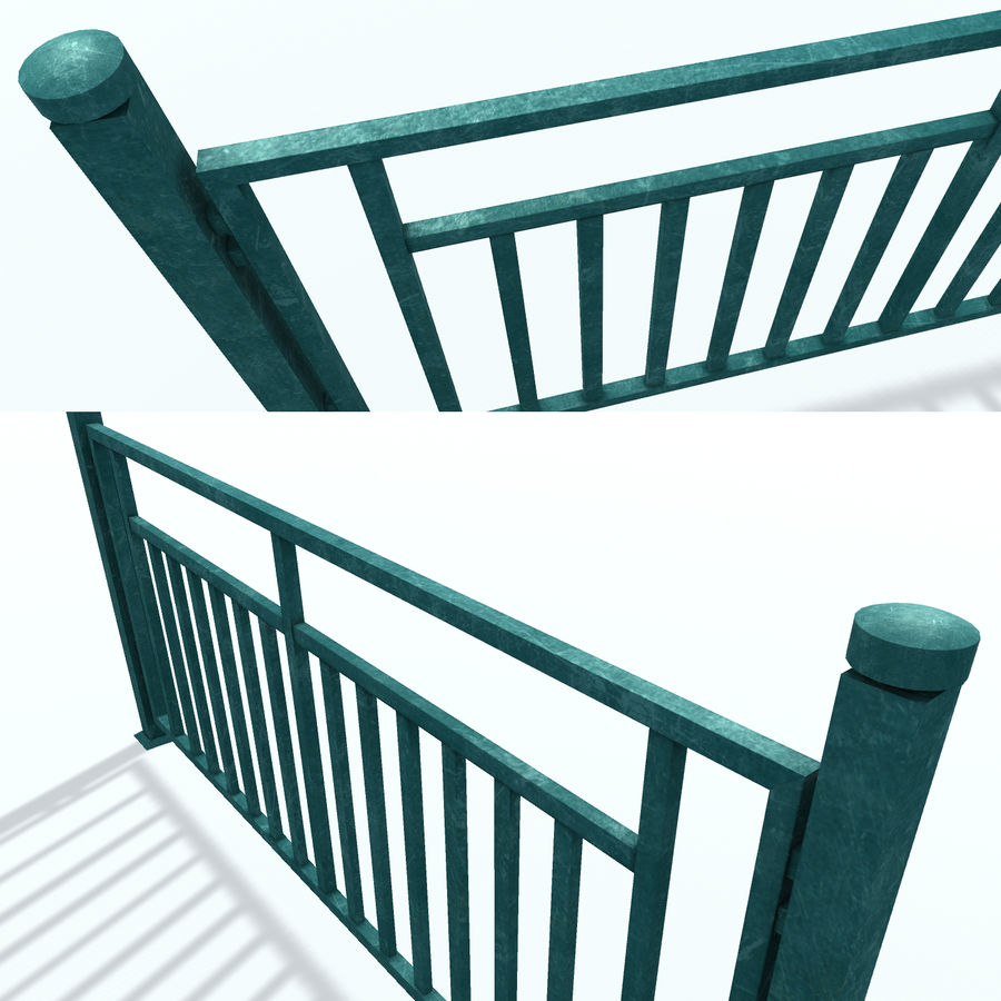 栅栏G royalty-free 3d model - Preview no. 3