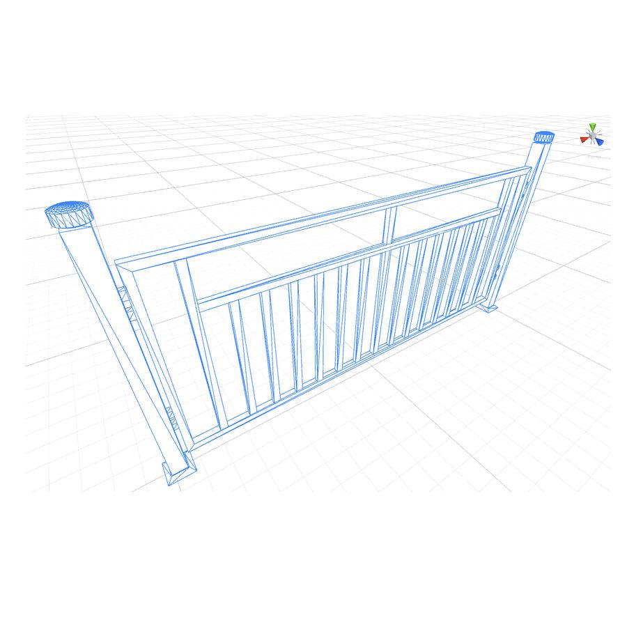 栅栏G royalty-free 3d model - Preview no. 4