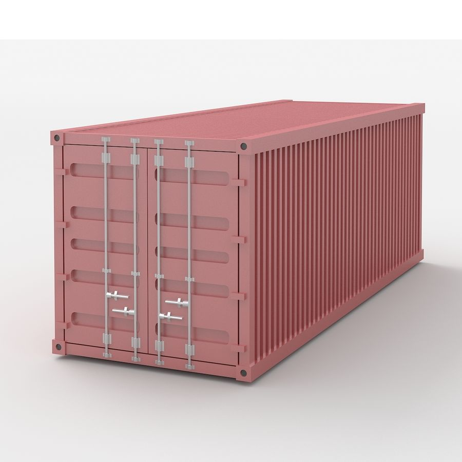 Shiping Container royalty-free 3d model - Preview no. 1