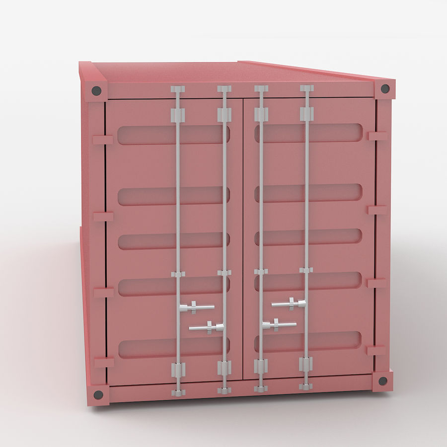 Shiping Container royalty-free 3d model - Preview no. 5