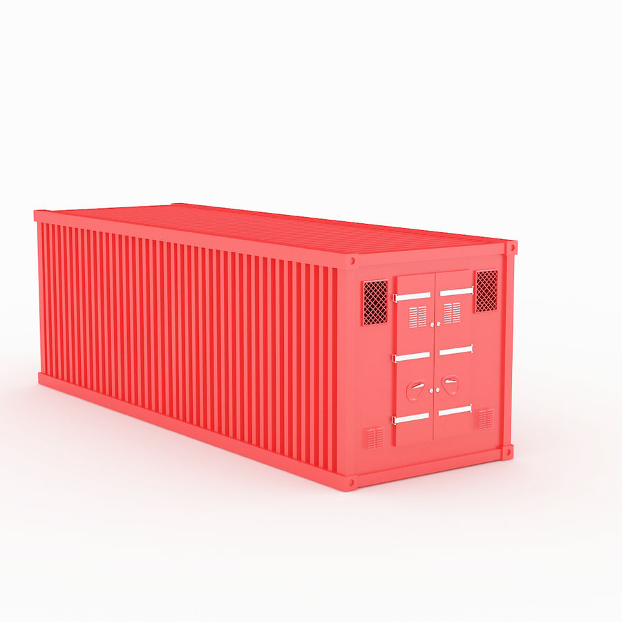 Shiping Container 2 royalty-free 3d model - Preview no. 1