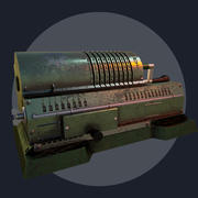 Adding machine 3d model