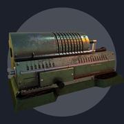 Máquina de adição 3d model