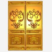 Altın Rus kapı 3d model