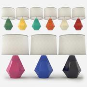 Robert Abbey - Delta Table Lamp 3d model