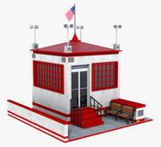 Casa de Cabana 3d model