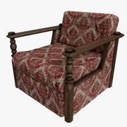 Кресло Готово 3d model