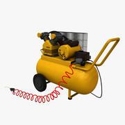 공기 압축기 3d model