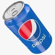 ペプシ缶 3d model