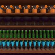 barra delle bevande 3d model