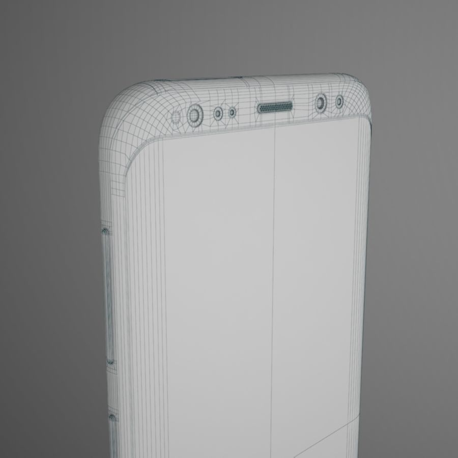 Samsung Galaxy S9 royalty-free 3d model - Preview no. 16