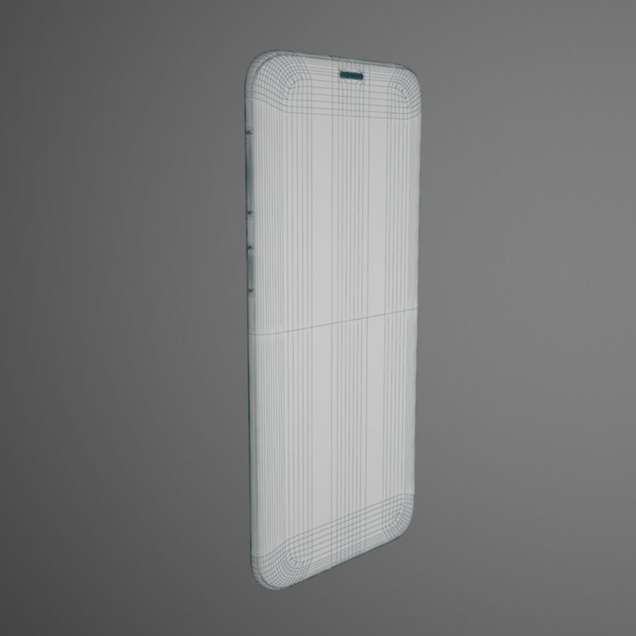 Samsung Galaxy S9 royalty-free 3d model - Preview no. 12