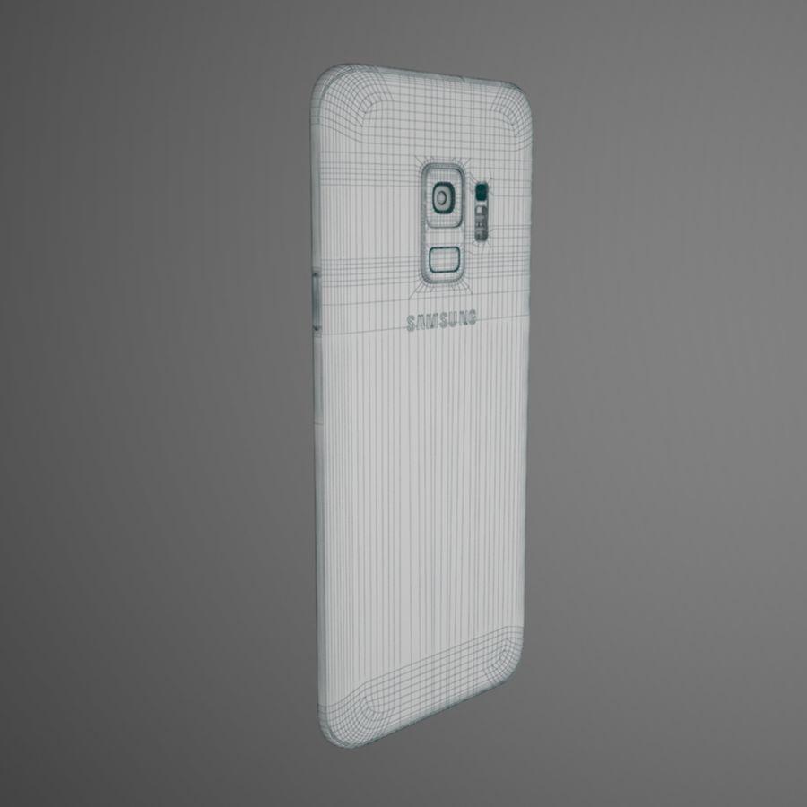 삼성 갤럭시 S9 royalty-free 3d model - Preview no. 11