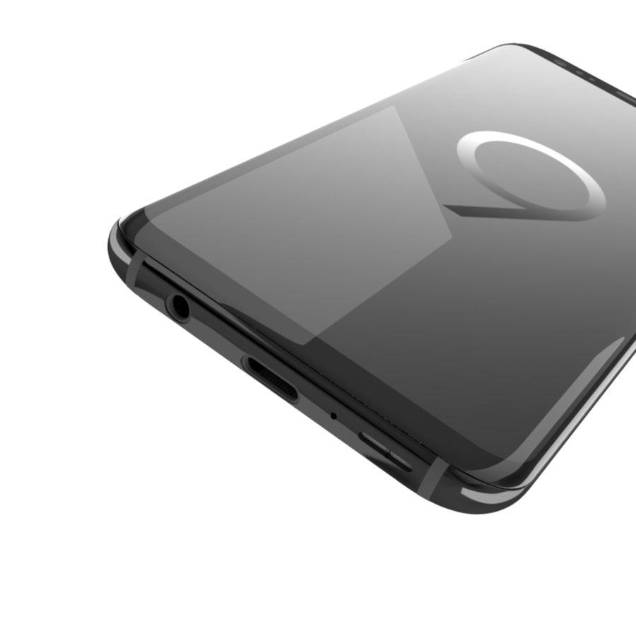 삼성 갤럭시 S9 royalty-free 3d model - Preview no. 9