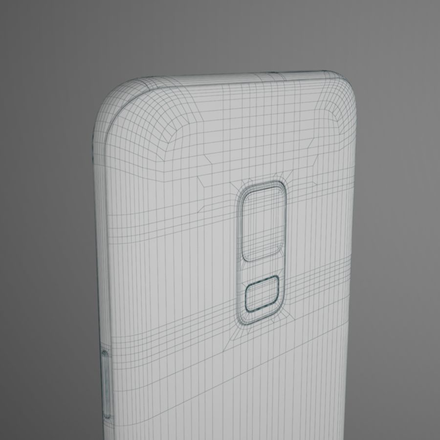 Samsung Galaxy S9 royalty-free 3d model - Preview no. 14