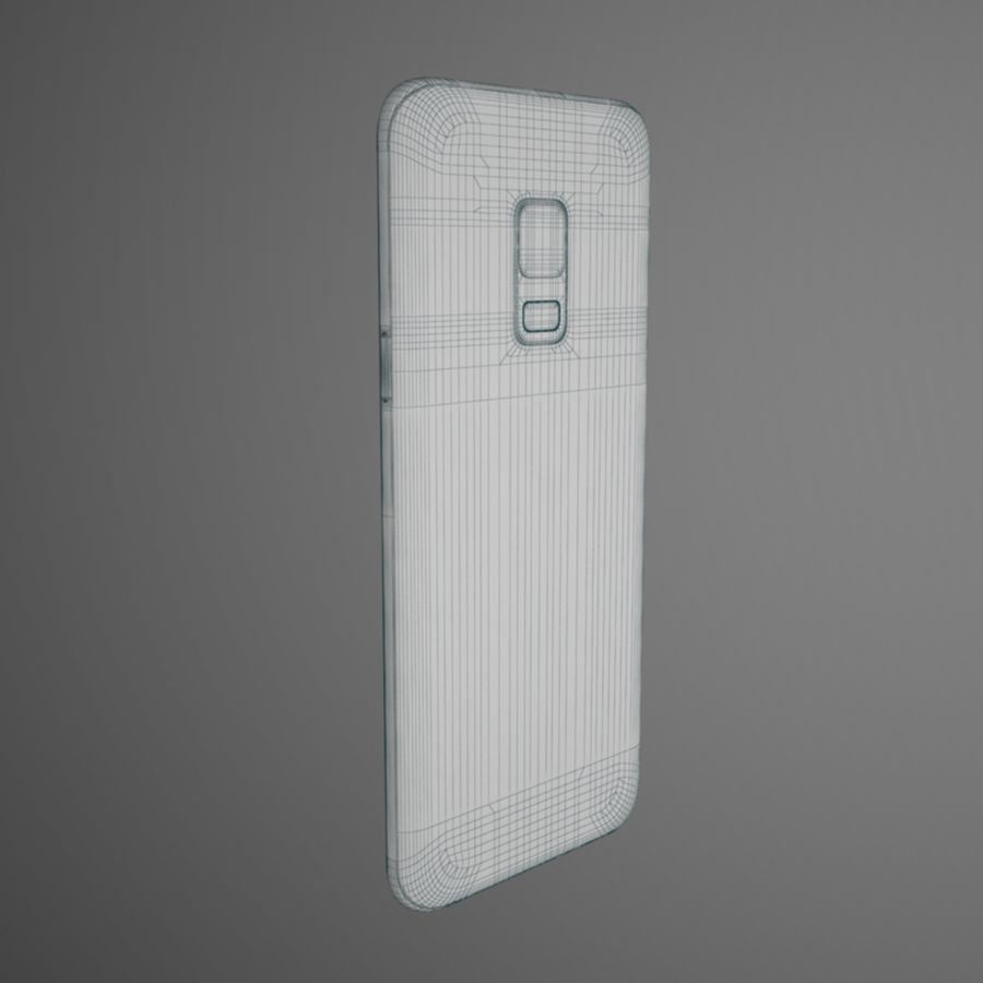 Samsung Galaxy S9 royalty-free 3d model - Preview no. 10