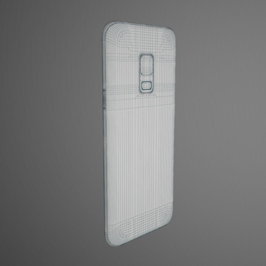 삼성 갤럭시 S9 royalty-free 3d model - Preview no. 10